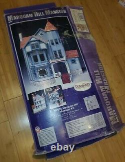 Vintage Marquam Hill Mansion Dollhouse Kit HUGE Duracraft 3 Story 8 Rooms