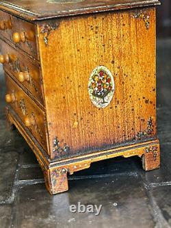 Vintage Miniature Dollhouse Artisan Alan Barnes Tarbena UK Primitive Dresser