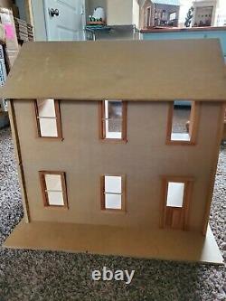 Vintage Moonbeam Dollhouse Co. Dollhouse in a Box quick build kit 112 Rare