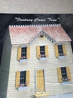 Vintage Retired Walmer Doll House Kit Lemon Twist Dollhouse # 449 Sealed In Box