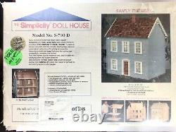 Vintage Simplicity DOLLHOUSE Kit Real Good Toys S-700D Sealed NEW