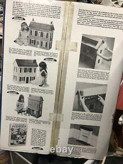 Vintage Skilcraft Model 680 All-Wood Victorian Doll House 25Lx13Wx26H (New)