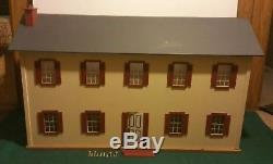 Vtg 1970s WALMER DOLL HOUSES Virginia USA Wood CHILDREN'S Large Dollhouse Kit