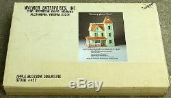Vtg Walmer Large 36 Wood Dollhouse Kit 457 Apple Blossom Porch Tower Wooden NIB