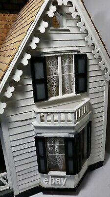 Westville Dollhouse Assembled by Greenleaf Dollhouses