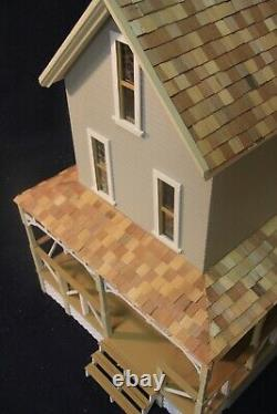 Willow Ridge 1 Inch Scale Dollhouse Kit By Majestic Mansions