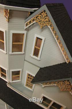 Wisteria Way 1 Inch Scale Dollhouse Kit Laser Cut